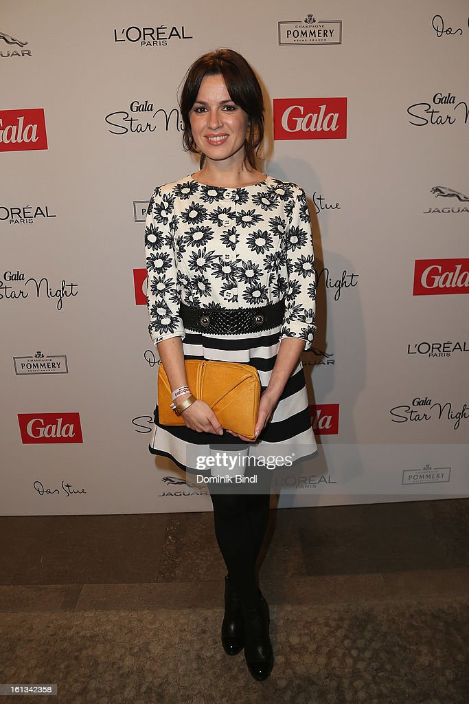 Natalia Avelon attends the Gala Star Night during the 63rd Berlinale International Film Festival at the Stue Hotel on February 9 2013 in Berlin...