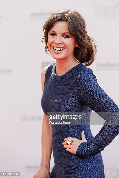 Natalia Avelon attends the German Film Award 2015 Lola at Messe Berlin on June 19 2015 in Berlin Germany