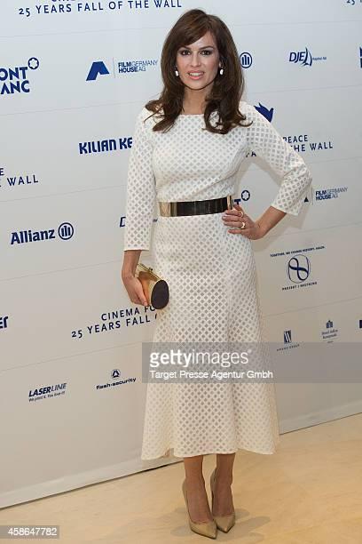 Natalia Avelon attends the HEROES Gala Berlin at Hotel Adlon on November 8 2014 in Berlin Germany