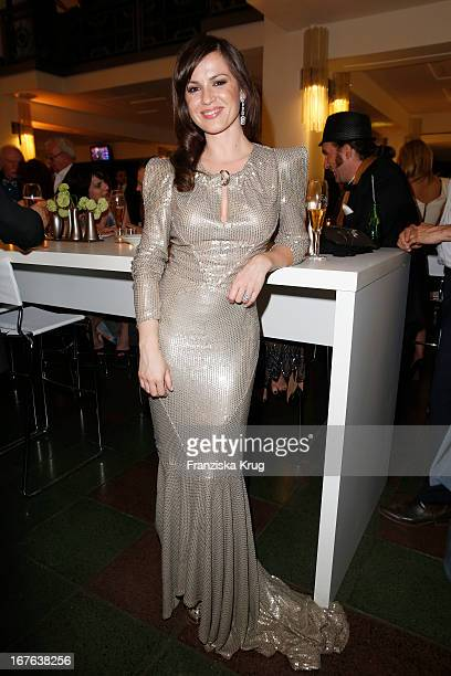 Natalia Avelon attends the Lola German Film Award 2013 Party at FriedrichstadtPalast on April 26 2013 in Berlin Germany