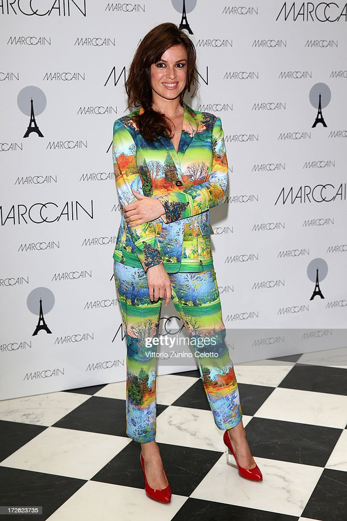 <a gi-track='captionPersonalityLinkClicked' href=/galleries/search?phrase=Natalia+Avelon&family=editorial&specificpeople=4121814 ng-click='$event.stopPropagation()'>Natalia Avelon</a> attends the Marc Cain Photocall during the Mercedes-Benz Fashion Week Spring/Summer 2014 at the Hotel Adlon on July 4, 2013 in Berlin, Germany.