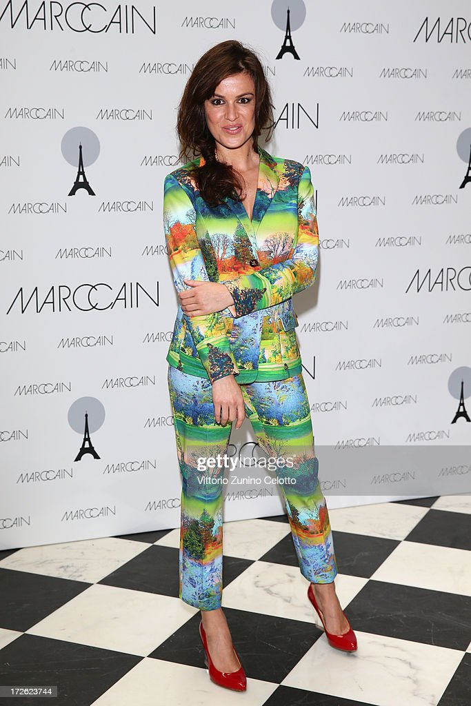 Natalia Avelon attends the Marc Cain Photocall during the Mercedes-Benz Fashion Week Spring/Summer 2014 at the Hotel Adlon on July 4, 2013 in Berlin, Germany.