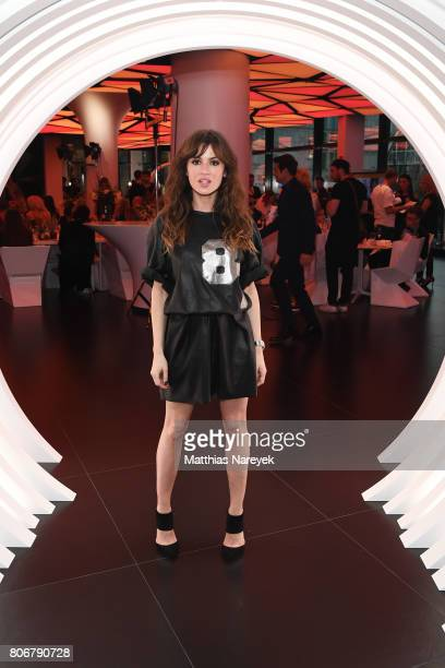 Natalia Avelon during the Marcell von Berlin 'Genesis' collection presentation on July 3 2017 in Berlin Germany