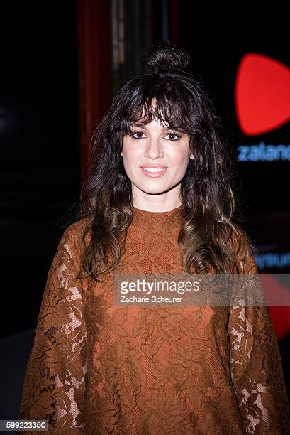 Natalia Avelon is seen at the Zalando fashion show during the Bread Butter by Zalando at arena Berlin on September 4 2016 in Berlin Germany