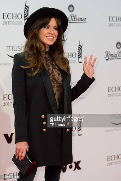Natalia Avelon on the red carpet during the ECHO German Music Award in Berlin Germany on April 06 2017