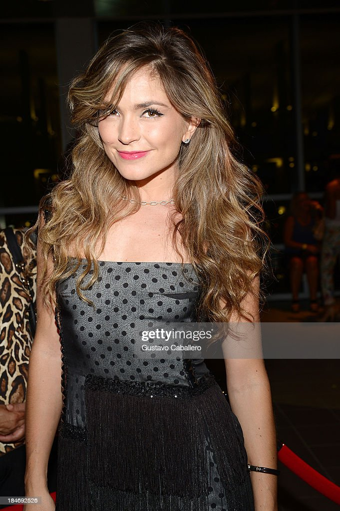Natalia Betancurt arrives for the premiere of 'The Snitch Cartel' at Regal South Beach on October 14, 2013 in Miami, Florida.