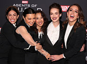 """100th Episode Celebration Of ABC's """"Marvel's Agents Of..."""