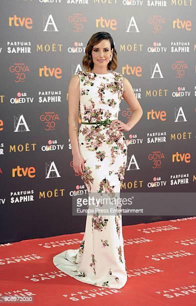 Natalia de Molina attends Goya Cinema Awards 2016 at Madrid Marriott Aud