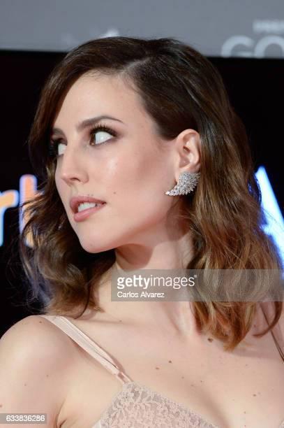 Natalia de Molina attends Goya Cinema Awards 2017 at Madrid Marriott Auditorium on February 4 2017 in Madrid Spain