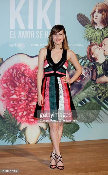 Natalia de Molina attends 'Kiki El Amor Se Hace' photocall on March 29 2016 in Madrid Spain