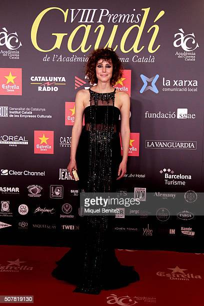 Natalia de Molina attends the 8th Premis Gaudi of Catalan Cinema at the Forum Auditorium on January 31 2016 in Barcelona Spain