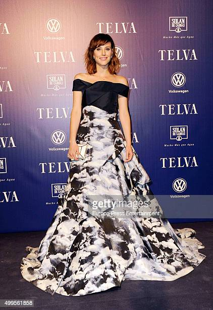 Natalia de Molina attends XXV Telva Fashion Awards 2015 at the Royal Theatre on December 1 2015 in Madrid Spain