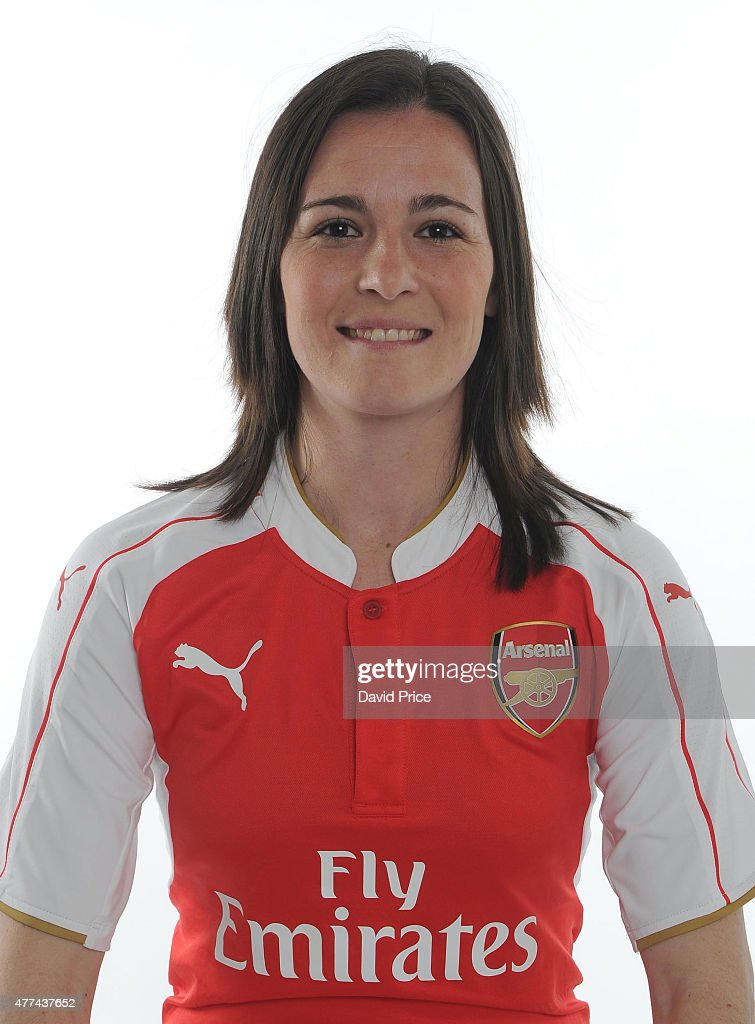 Natalia De Pablos Sanchon of Arsenal Ladies poses at London Colney on March 24, 2015 in St Albans, England.