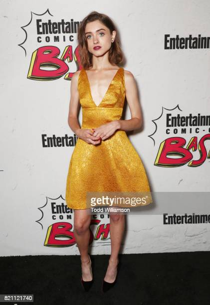 Natalia Dyer at Entertainment Weekly's annual ComicCon party in celebration of ComicCon 2017 at Float at Hard Rock Hotel San Diego on July 22 2017 in...