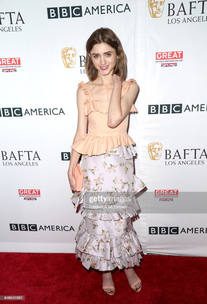Natalia Dyer attends the BBC America BAFTA Los Angeles TV Tea Party 2017 at The Beverly Hilton Hotel on September 16, 2017 in Beverly Hills, California.