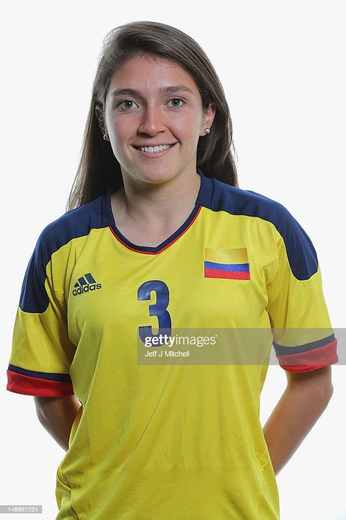 Colombia Women's Official Olympic Football Team Portraits