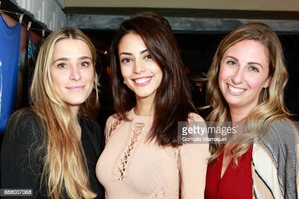 Natalia Gola Mayra Suarez and Emily Marino attend the BOFFO Spring Benefit at Pulqueria on May 24 2017 in New York City