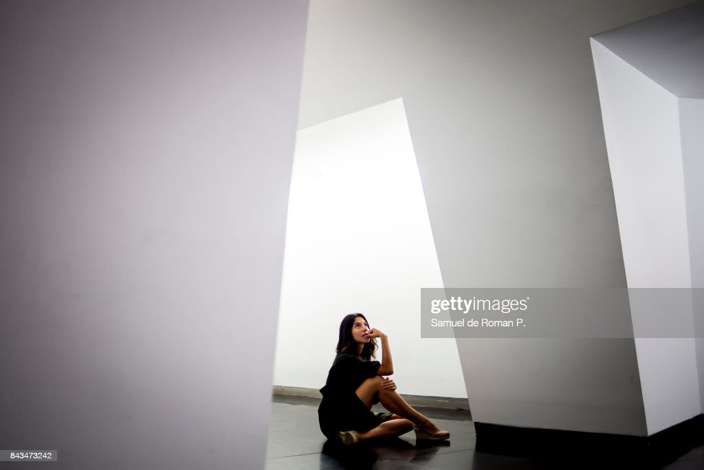 Natalia Huarte Portrait Session at `CentroCentro´ on September 5, 2017 in Madrid, Spain.