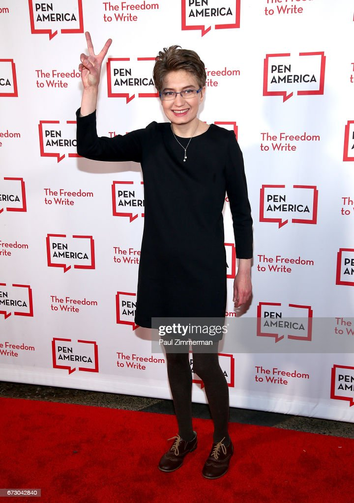 Natalia Kaplan attends PEN America's 2017 Literary Gala Red Carpet at American Museum of Natural History on April 25, 2017 in New York City.