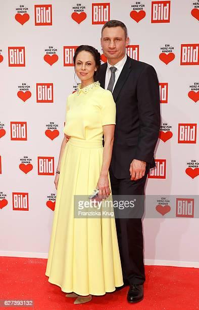 Natalia Klitschko and Vitali Klitschko attend the Ein Herz Fuer Kinder Gala on December 3 2016 in Berlin Germany