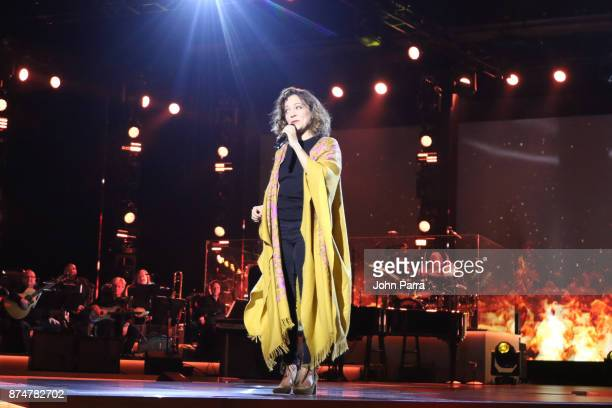 Natalia Lafourcade performs onstage during the 2017 Person of the Year Gala honoring Alejandro Sanz at the Mandalay Bay Convention Center on November...