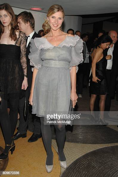 Natalia Langhorne attends The GUGGENHEIM Young Collectors Council ARTIST'S BALL honoring RYAN MCGINLEY at Solomon R Guggenheim Museum on December 13...