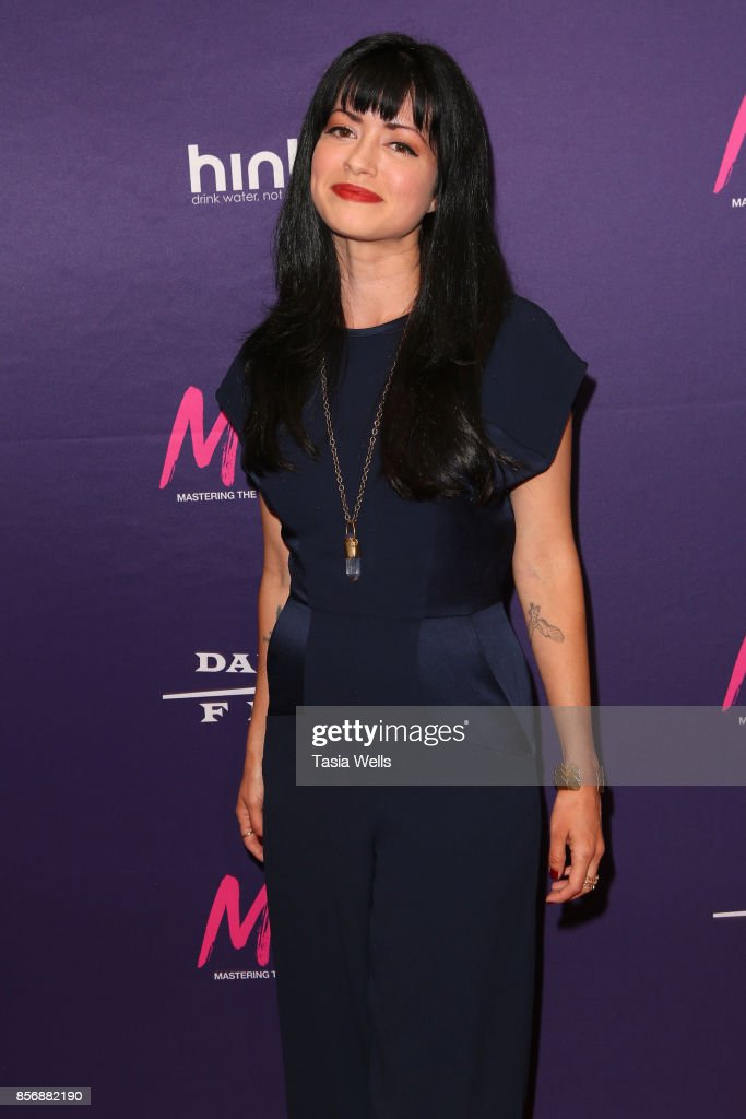 Natalia Leite at the premiere of Dark Sky Films' 'M.F.A.' at The London West Hollywood on October 2, 2017 in West Hollywood, California.