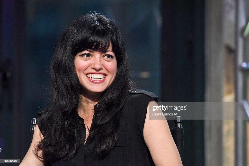 Natalia Leite visits AOL Studios on November 12, 2015 in New York City.
