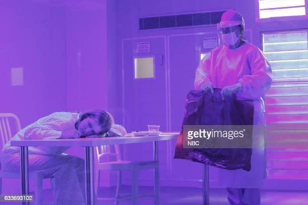 THE BLACKLIST 'Natalia Luca' Episode 412 Pictured Elizabeth Lail as Natalie Luca Geraldine Hughes as Dr Buckner