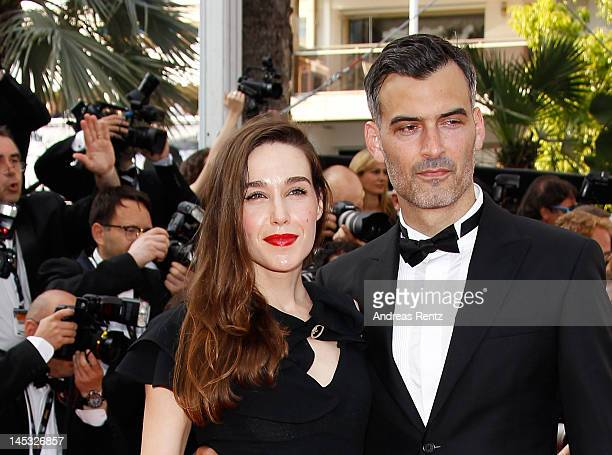 Natalia Oreiro and guest attends the 'Mud' Premiere during the 65th Annual Cannes Film Festival at Palais des Festivals on May 26 2012 in Cannes...