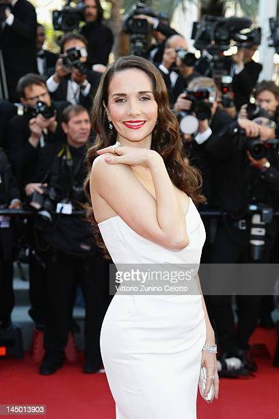 Natalia Oreiro arrives at 'Killing Them Softly' Premiere during the 65th Annual Cannes Film Festival at Palais des Festivals on May 22 2012 in Cannes...