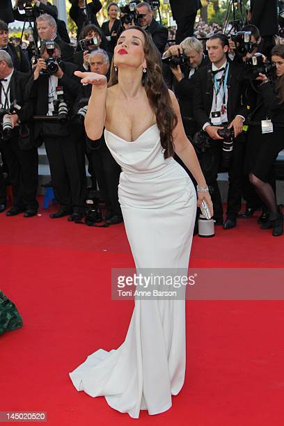 Natalia Oreiro attends 'Killing Them Softly' Premiere at Palais des Festivals on May 22 2012 in Cannes France