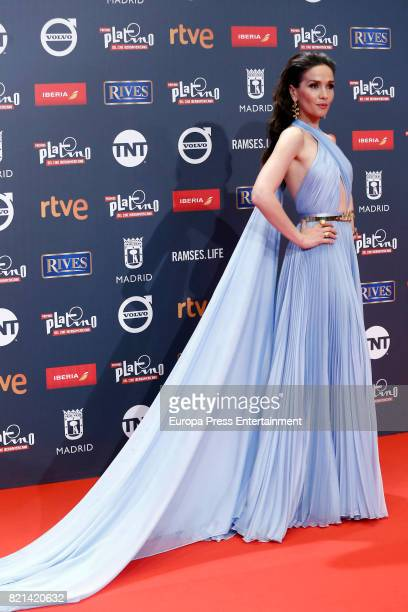 Natalia Oreiro attends Platino Awards 2017 at La Caja Magica on July 22 2017 in Madrid Spain