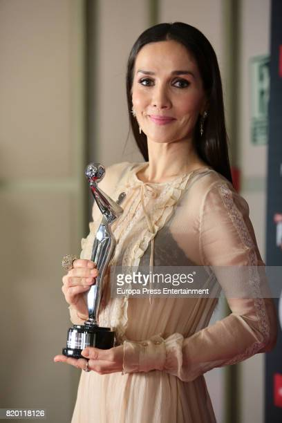 Natalia Oreiro attends Platino Awards 2017 press conference on July 21 2017 in Madrid Spain