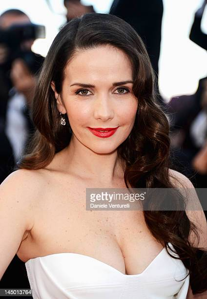 Natalia Oreiro attends the 'Killing Them Softly' Premiere during the 65th Annual Cannes Film Festival at Palais des Festivals on May 22 2012 in...