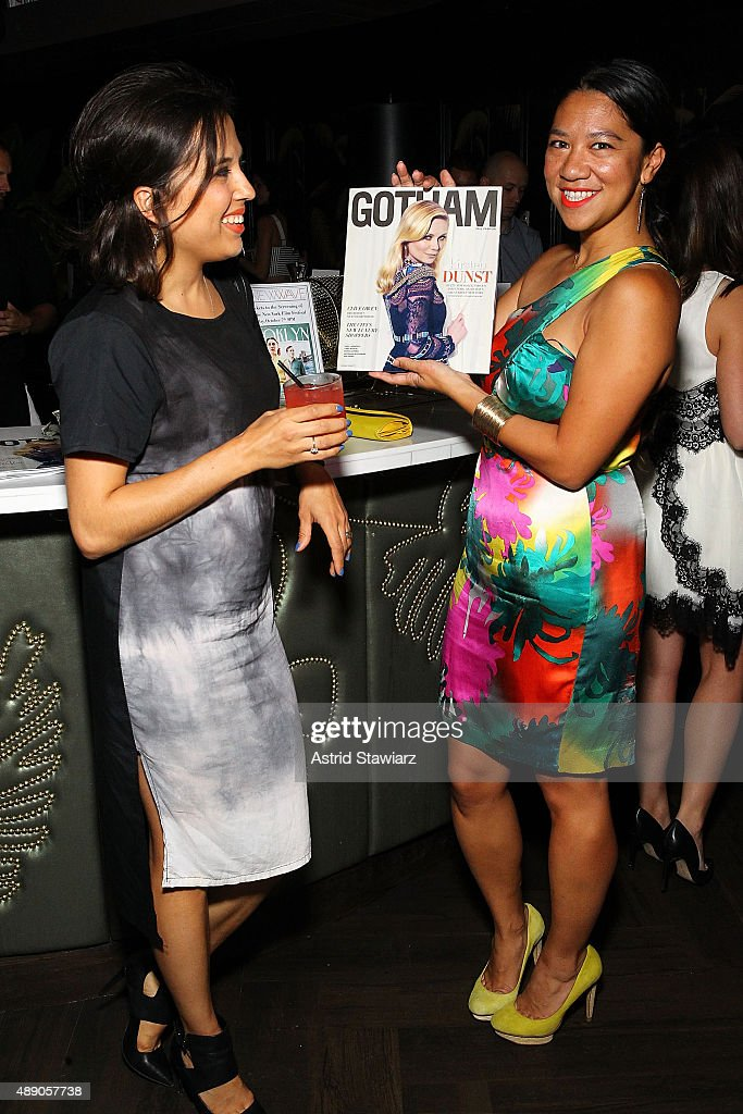 GOTHAM Magazine & The NY Film Festival Kick Off Presented By New Wave At No. 8