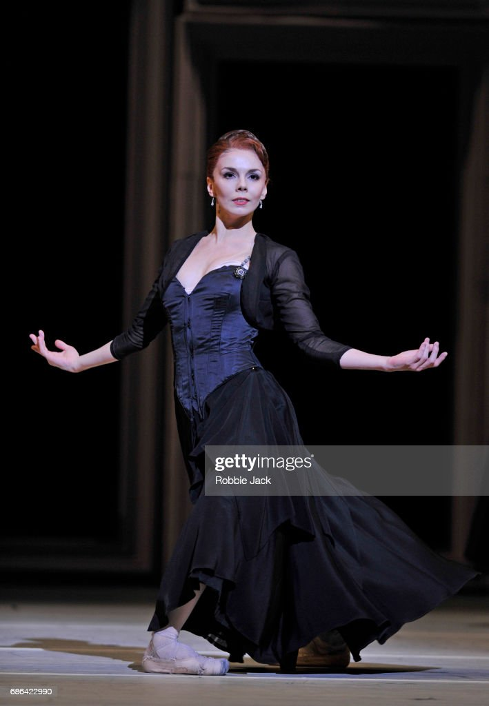 The Royal Ballets Production Of Christopher Weeldon's Strapless At The Royal Opera House