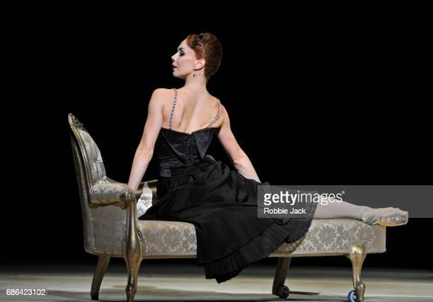 Natalia Osipova as Amelie Gautreau in the Royal Ballet's production of Christopher Weeldon's Strapless at The Royal Opera House on May 18 2017 in...