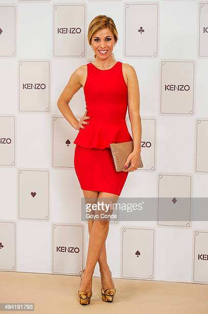 Natalia Rodriguez attends the Kenzo Summer Party photocall at Club Financiero Genova on May 28 2014 in Madrid Spain