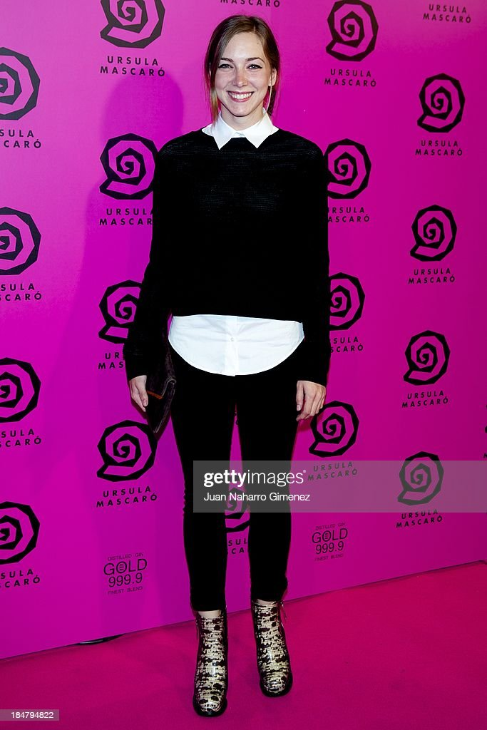 Natalia Rodriguez attends Ursula Mascaro opening store at Ursula Mascaro store on October 16, 2013 in Madrid, Spain.