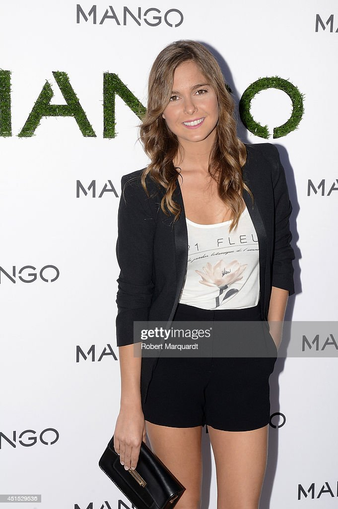 Natalia Sanchez attends a photocall for 'Mango' at 080 Barcelona Fashion Week on June 30, 2014 in Barcelona, Spain.