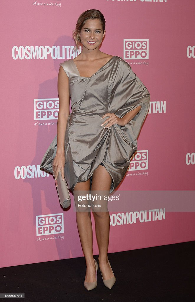 Natalia Sanchez attends Cosmopolitan Fun Fearless Female Awards 2013 at the Ritz Hotel on October 22, 2013 in Madrid, Spain.