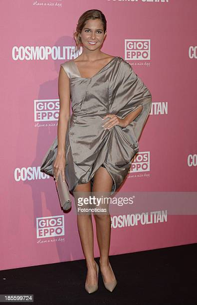 Natalia Sanchez attends Cosmopolitan Fun Fearless Female Awards 2013 at the Ritz Hotel on October 22 2013 in Madrid Spain