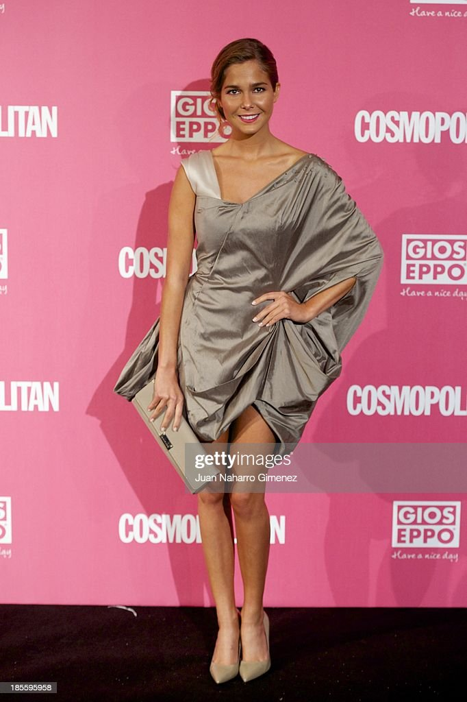 Natalia Sanchez attends the Cosmopolitan Fun Fearless Female Awards 2013 at the Ritz Hotel on October 22, 2013 in Madrid, Spain.