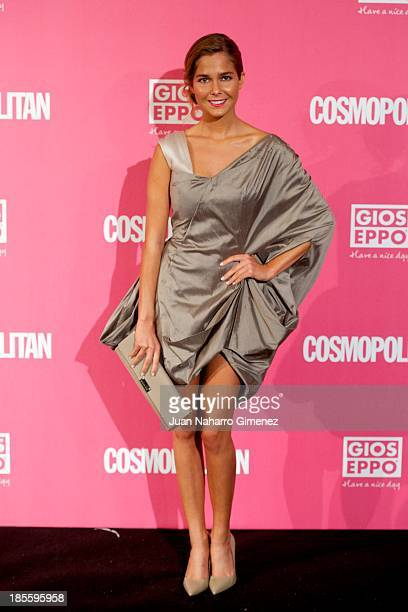 Natalia Sanchez attends the Cosmopolitan Fun Fearless Female Awards 2013 at the Ritz Hotel on October 22 2013 in Madrid Spain