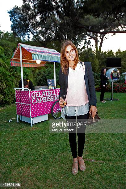 Natalia Sanchez attends the Kevin Costner's concert during the second 'Festival Jardins de Pedralbes' on July 2 2014 in Barcelona Spain