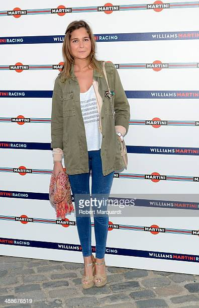 Natalia Sanchez attends the 'Martini Racing' inauguration on May 7 2014 in Barcelona Spain