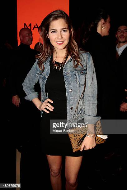 Natalia Sanchez attends the new Mango's collection at the '080 Barcelona Fashion Week 2015 Fall/Winter' on February 2 2015 in Barcelona Spain