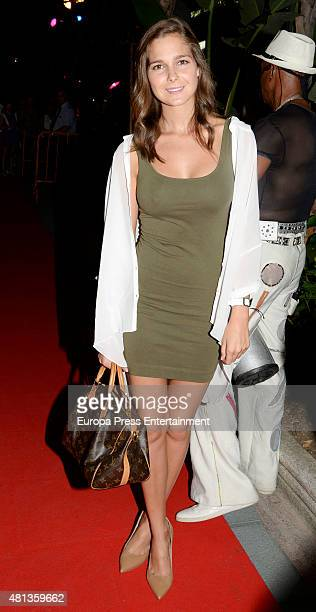 Natalia Sanchez attends the Platino Awards Welcome Dinner on July 17 2015 in Marbella Spain