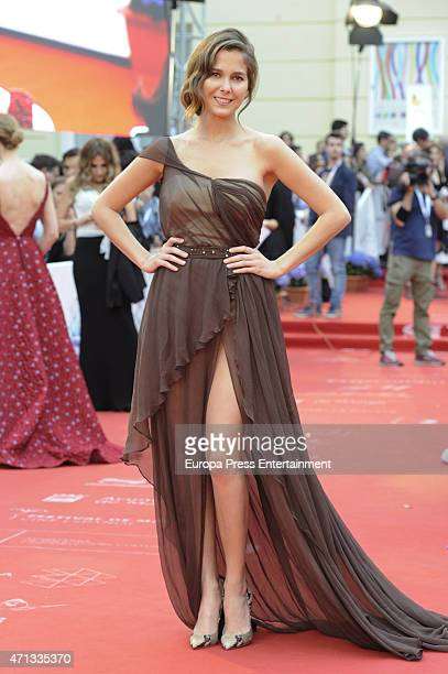 Natalia Sanchez is seen during the closing day of Malaga Film Festival on April 25 2015 in Malaga Spain